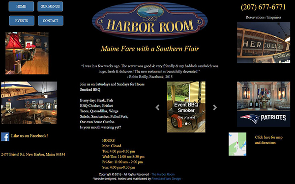 The Harbor Room Screen Shot