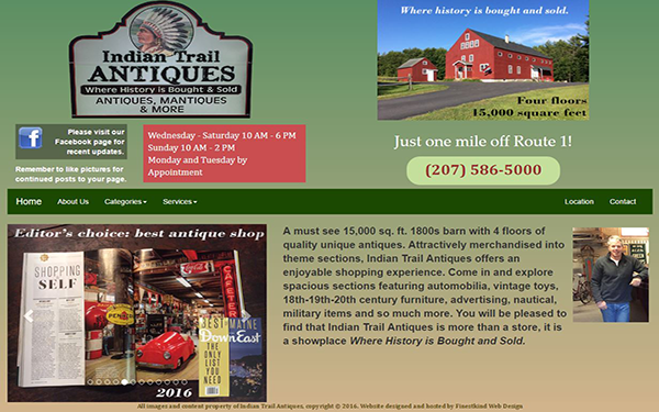 Indian Trail Antiques Screen Shot