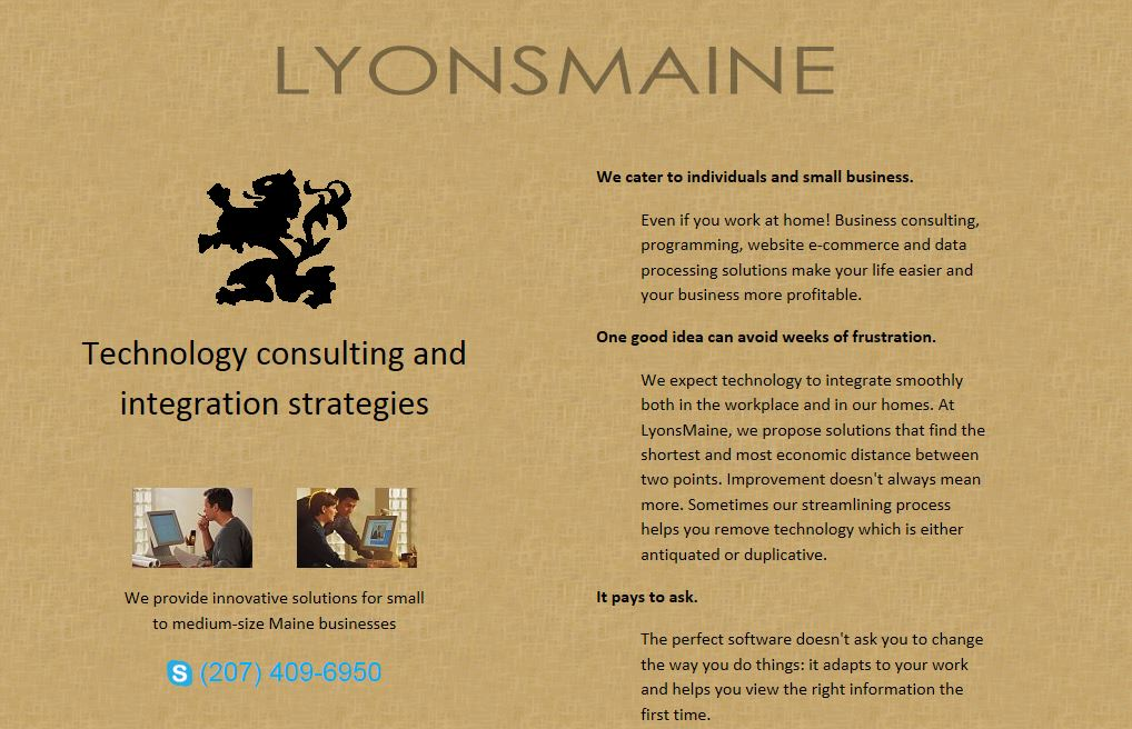 LyonsMaine Screen Shot